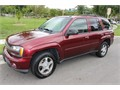 2005 Chevrolet Trailblazer LT  Burgundy exterior with black interior  Leather appointed seating 1s