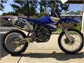 4 stroke dirt bike good condition for year  model Sons bike hes in the service  getting a new