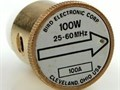 Bird 43 Thruline WattMeter Element 100Watt 100A 25-60MHz