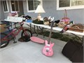 Garage Sale  Sat April 10 7am-10am 983 Granby St Simi Valley Furniture bike scooters