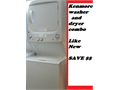 Kenmore almost new wd stack gas 1 piece comes with free warranty can deliver 6650 van nuys bl van