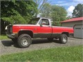 1987 Chevy K10 Only 62 K orig Miles Silverado Rust Free Must See AC For more pictures and info pl