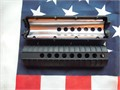 New Unused Mid-length 85 Ar-15 Piston Compatible Hand Guard Set with aluminum heat guard in lowe