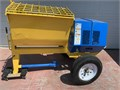 For Sale a Clean  Just Repainted Was 1-Home Owner Lightly Used Stone Mixer 8-Cf Big Drum Contr