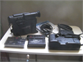 Camera need work accessories are working 1 ea Canon UC10  8mm video camcorder1 ea CANON Genuine