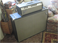 Vintage Fender Band Master tube amp  speaker cabinet guitar amp combo 200 watts from 1968 or lat