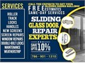 SERVICESRoller Repair  ReplacementTrack Repair  ReplacementLock Repair