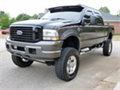 2004 FORD F250 HARLEY DAVIDSON 4X4SUPER DUTY CREW CAB ONLY 64023 MILESLEATHER SUNROOF PRO COMP