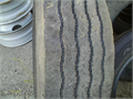 This nice tire is suitable for use on tow truck  Look at photo closely to see good tread and no evi