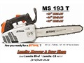 New STIHL MS193T 14 climbing chainsaws 728lbs - Lomita Mower  Saw - 2344 Lomita Bl - Lomita CA