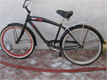 CRUISER BICYCLE  26 IN DELLA CRUZ MFG GOOD CONDITION SEAT LEATHER IS DRIED AND TORNreggy6332gm