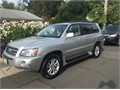 2006 Toyota Highlander Hybrid limited Used 95000 miles Private Party SUV 6 Cyl Silver Gray G