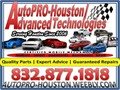 AUTOPRO-HOUSTON - 9103 EMMOTT RD  77040  8328771818We are happy to serve you for all of your