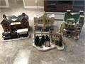 Dept 56 Snow Village collection Beautiful pieces with original packaging Perfect Christmas collec
