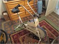 Sears stationary exercise bike excellent condition hardly used 12500 818-568-9788