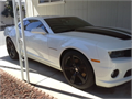 2011 Chevrolet Camaro SS Used 7000 miles Private Party Coupe 8 Cyl White Gray Excellent cond