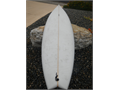 Swallow tail surfboard for sale Excellent condition no dings 79 pointed tip 3 inches thick