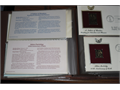Golden replicas US stamps in 22kt gold Each stamp is a US commemorative Have two complete albums