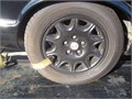 a set of jaguar xj8 wheels and almost new tires and lug nuts