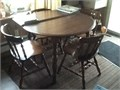 TABLE 4 CHAIRS WOOD  7500