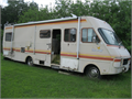 This motorhome has no engine and no transmission You must pick up You will need a tow truck Other