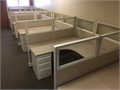 Used Herman Miller AO-2 cubicles with glassDifferent sizes available 5x5x53H 6x6x53HWi