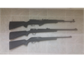 1 SKS  100 rounds fired 1 New Frontier Wind River Magnum 50cal Black Powder in-line bolt action dr
