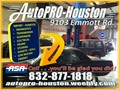 Certified automotive engine and electrical repair facility with mobile mechanics serving Alief Hous