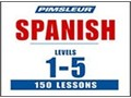 150 MP3 Pimsleur Spanish Courses Levels 1-5Planning on learning Spanish heres a great opportunit