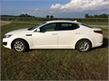 2011 Kia Optima LX Used 107000 miles Private Party Sedan 4 Cyl White Tan Excellent cond Aut