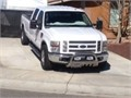 2008 Ford F350 Xlt crew cab 32000 miles turbo diesel international engine White body camel interio