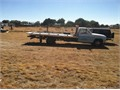1985 Chevy jarden 17 ft aluminum flatbed Tow stinger  454 gas engine stick shift transmission  Al