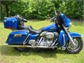 2007 Harley-Davidson Electra Glide Pacific Blue paint with Classic trim plus many additional option