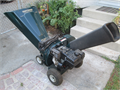 Craftsman 85 HP chipper and shredder excellent condition like new 3 diameter chipping capacity