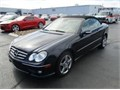 2007 MBZ CLK 550 Convertible 2nd Owner Excellent Condition BlkBlk New Top New Idle Pulley New