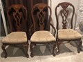 3 Dining Chairs  425H x 185 floor to top of seat  10 each Coming from a smoke free home Can
