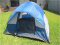 WENZEL dome tent  7 X 7 X 54 tall GREAT CONDITION Complete with rain fly stakes and carry bag