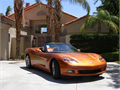 2007 Chevrolet Corvette Pace care Used 55000 miles Private Party Convertible 8 Cyl Orange exte