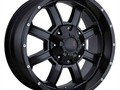 Offroad wheel setHavok H101Size 20x10Fits Chevy and Ford Trucks with 6 lug patternsFinish