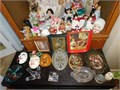 Sat and Sunday 9am - 5pm Lots of Vintage Dolls Glass Ware Vases Trays Crystal Clothing Toys Furnitur
