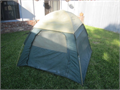 Nice 1-2 man dome tent  no brand name on it 56 sq square x 40 tall great cond no smells w ra