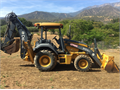 2008 310SJ with extend  thumb 4-in-1 MP bucket 4 total backhoe buckets 12 18 24 36 compa