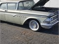 This 1959 Ford edsel start up and run it needs brakes registration and a radiator to drive home cal