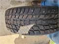 4 Mastercraft studded tires like new used 2 winters 21555R17