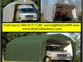 Weather-Shield Portable Garage Shelter Barn Roof StyleSTOP Weather and Sun DamageFor Motor
