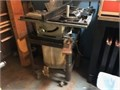 Table Saw 1HP motor old but excel cond HD stand and large wheels Everything