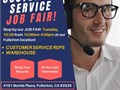 SAVE THE DATEOur next CUSTOMER SERVICE JOB FAIR will be NEXT Tuesday 1026 from 10AM-4PMAddre