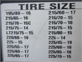 SCC SC1038 snow cable chains fits some 14 15 16  17 19 tires see chart for actual sizes
