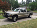 2001 Chevrolet Silverado Z71 Used 186631 miles Private Party Extended Cab 8 Cyl Pewter Charco