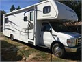 2011 Fleetwood Jamboree Sport 31W Ford E-450 with 22K miles Rear queen walk around bed overhead be